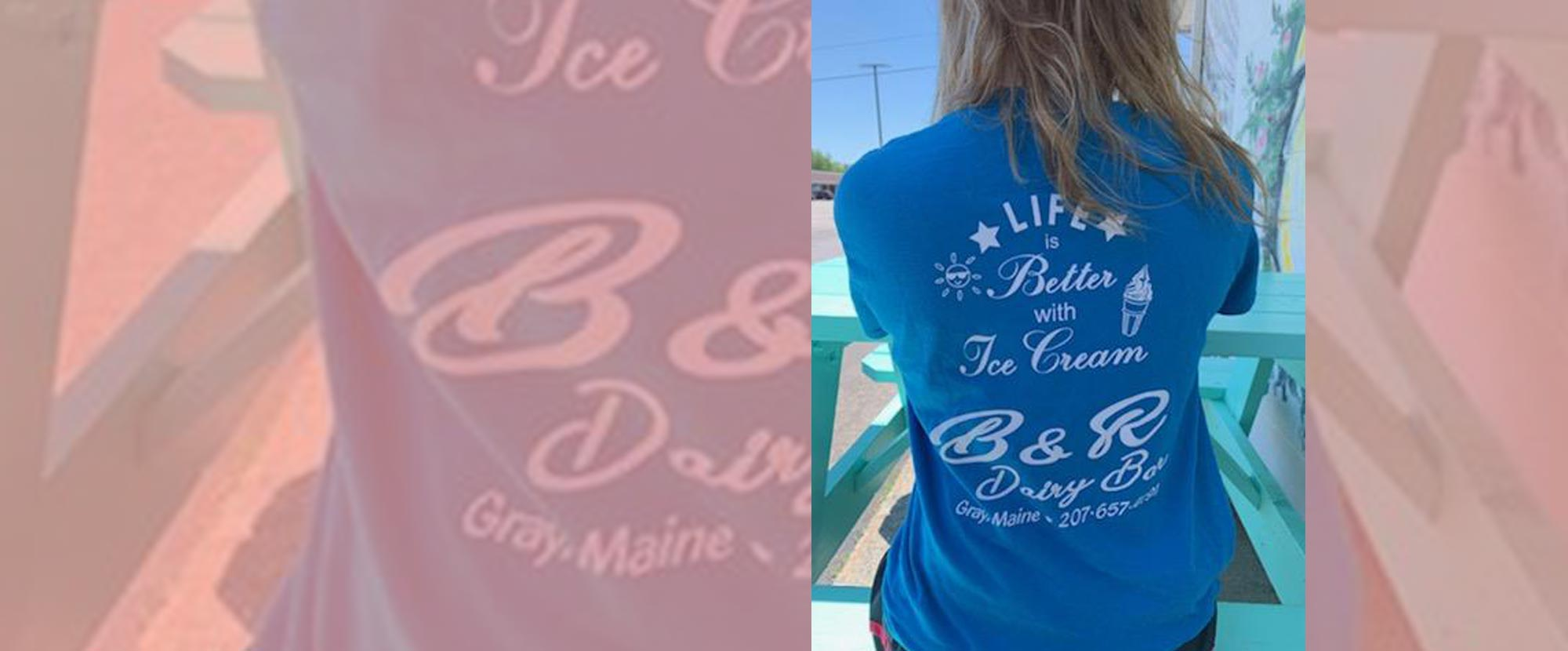 We Are Now Selling B & R Dairy Bar T-Shirts!